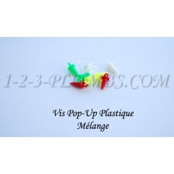 Vis Pop-Up Plastique